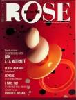 Couverture La Vie en rose, no 44, mars 1987