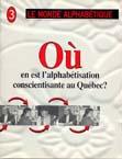 Couverture Le Monde alphabétique, No 3