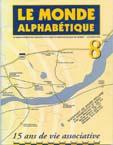 Couverture Le Monde alphabétique, No 8