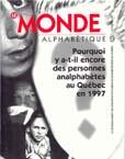 Couverture Le Monde alphabétique, No 9