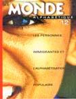 Couverture Le Monde alphabétique, No 12