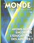 Couverture Le Monde alphabétique, No 14