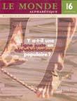 Couverture Le Monde alphabétique, No 16