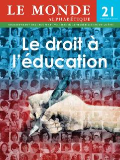 Couverture Le Monde alphabétique, No 21