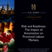 Risk and readiness [ressource électronique] : the impact of automation on provincial labour markets