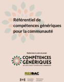Référentiel de compétences génériques pour la communauté [ressource électronique]