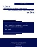 Public servant schools in Canada [ressource électronique] : a concept for reconciliation