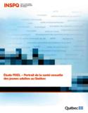 Étude PIXEL [ressource électronique] : portrait de la santé sexuelle des jeunes adultes au Québec