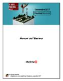 Manuel de l'électeur [ressource électronique]