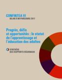CONFINTEA VI bilan à mi-parcours 2017 [ressource électronique] : progrès, défis et opportunités : le statut de l'apprentissage et l'éducation des adultes : synthèse des rapports régionaux