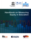 Handbook on measuring equity in education [ressource électronique]