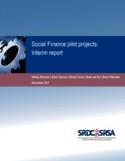 Social finance pilot projects [ressource électronique] : interim report