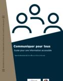 Communiquer pour tous [ressource électronique] : guide pour une information accessible