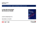 Le bien-être économique des femmes au Canada, 2015 [ressource électronique]