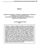 Compétences des migrants [ressource électronique] : utilisation et inadéquation des compétences et performances sur la marché du travail : une première exploitation des données issues de l'Évalution des compétences des adultes (PIAAC)