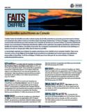 Les familles autochtones au Canada [ressource internet]
