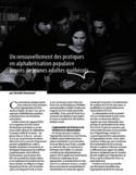 Un renouvellement des pratiques en alphabétisation populaire auprès de jeunes adultes québécois [ressource électronique]