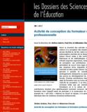Activité de conception du formateur et formation professionnelle [ressource électronique]