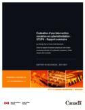 Évaluation d'une intervention novatrice en cyberintimidation [ressource électronique] : STOPit : rapport sommaire