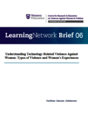 Understanding technology-related violence against women [ressource électronique] : typed of violence and women's experiences