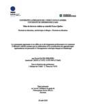 La communauté apprenante et ses effets sur le développement professionnel et le sentiment d'efficacité collective promus par la collaboration et la coconstruction des apprentissages [ressource électronique] : représentations de personnels à l'Enseignement catholique français en Guadeloupe