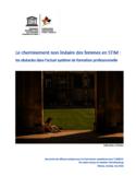 Le cheminement non linéaire des femmes en STIM [ressource électronique] : les obstacles dans l'actuel système de formation professionnelle