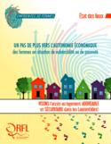 Un pas de plus vers l'autonomie économique des femmes en situation de vulnérabilité ou de pauvreté [ressource électronique] : visons l'accès au logement abordable et sécuritaire dans les Laurentides!