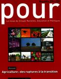 Positionner des projets éducatifs dans l'enseignement agricole en lien avec la transition agro-écologique : conception et expérimentation d'un outil