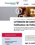 Littératie en santé [ressource électronique] : de l'accès à l'utilisation de l'information santé