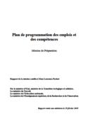 Plan de programmation des emplois et des compétences [ressource électronique]