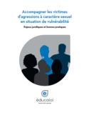 Accompagner les victimes d'agressions à caractère sexuel en situation de vulnérabilité [ressource électronique] : enjeux juridiques et bonnes pratiques