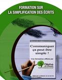 Formation sur la simplification des écrits [ressource électronique] : communiquer ça peut être simple
