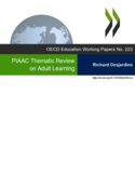 PIAAC thematic review on adult learning [ressource électronique]