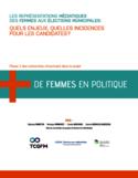 Les représentations médiatiques des femmes aux élections municipales [ressource électronique] : quels enjeux, quels incidences pour les candidates?