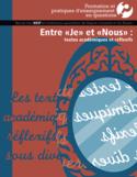 """Entre """"je"""" et """"nous"""" [ressource électronique] : textes académiques et réflexifs"""