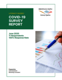 COVID-19 survey report [ressource électronique]