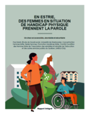En Estrie, des femmes en situation de handicap physique prennent la parole [ressource électronique] : un chez soi accessible, abordable et sécuritaire