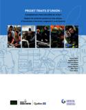Projet Traits d'union [ressource électronique] : compétences interculturelles en action : rapport de recherche portant sur cinq secteurs d'intervention à Montréal, Longueuil et Laval (Québec)