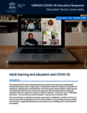 Adult learning and education and COVID-19 [ressource électronique]