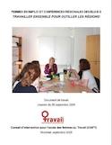Femmes en emploi et conférences régionales des élu-e-s : travailler ensemble pour outiller les régions! : document de travail