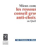 Mieux comprendre les ressources conseil grossesse anti-choix au Québec [ressource électronique] : outil d'information, de réflexion et pistes de recommandation