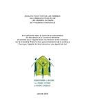 Égalité pour toutes les femmes! [ressource électronique] : recommandations pour les femmes victimes de violence conjugale : avis présenté dans le cadre de la consultation du Secrétariat à la condition féminine Ensemble pour l'égalité entre les femmes et les hommes sur le troisième plan d'action gouvernemental de la politique Pour que l'égalité de droit devienne une égalité de fait