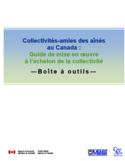 Collectivités-amies des aînés au Canada [ressource électronique] : guide de mise en œuvre à l'échelon de la collectivité : boîte à outils