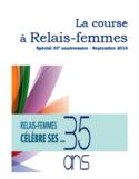 La course à Relais-femmes [ressource électronique] : spécial 35e anniversaire