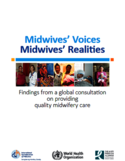 Midwives' voices, midwives' realities [ressource électronique] : findings from a global consultation on providing quality midwifery care